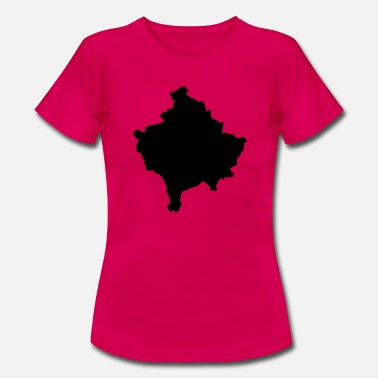 Map Kosovo map map - Women's T-Shirt