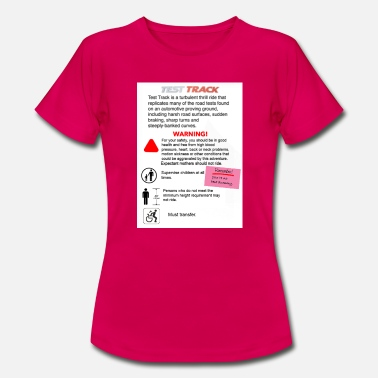 "Test Track ""Test Health and Safety"" signage - Women's T-Shirt"