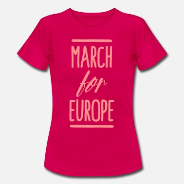 Umfrage March for Europe - Frauen T-Shirt