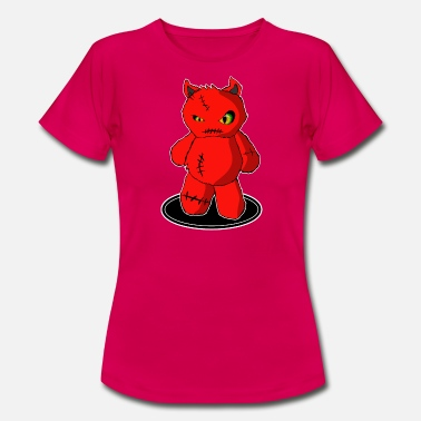 Devil Cute Little sweet devil, little devil cute figure - Women's T-Shirt