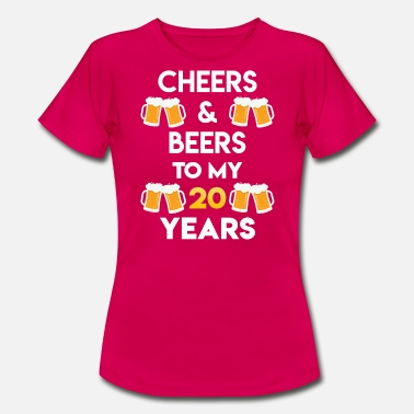 GIFT - CHEERS AND BEERS - Frauen T-Shirt