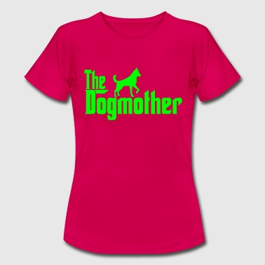 The Dogmother Dog Walkers Design - Women's T-Shirt