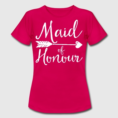 Sugar Maid Of Honour  - Frauen T-Shirt