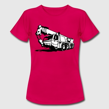 Autokran, crane (2 color) - Frauen T-Shirt