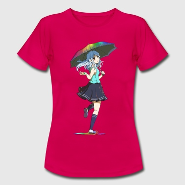 Rainbow Girl 3 - Frauen T-Shirt