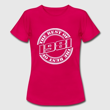 1981 the best of - Frauen T-Shirt