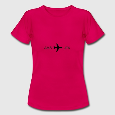 Flying to New York! - Women's T-Shirt