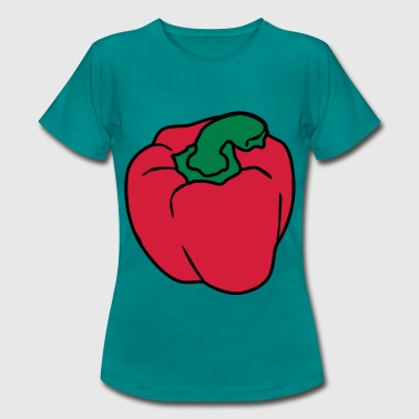 Red Pepper - Vrouwen T-shirt