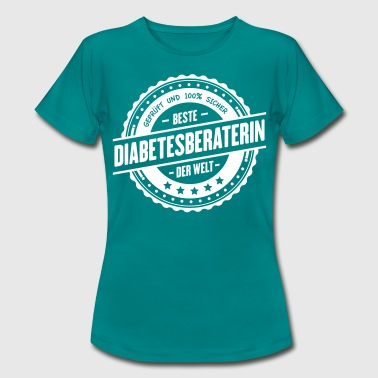 Beste Diabetesberaterin - Frauen T-Shirt