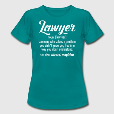 Lawyer - Definition - Frauen T-Shirt