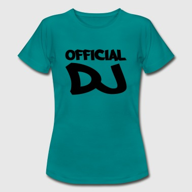 Official DJ - Women's T-Shirt