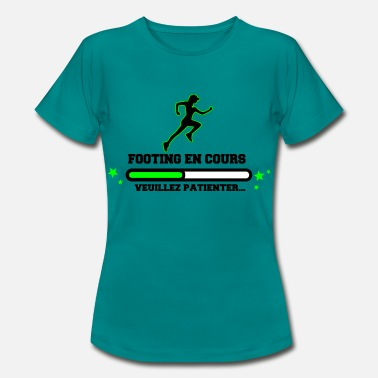 Marathon Humour FOOTING EN COURS WOMAN - T-shirt Femme