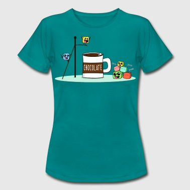 Marshmallows having Fun - Frauen T-Shirt