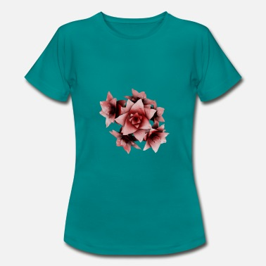 flor - Camiseta mujer