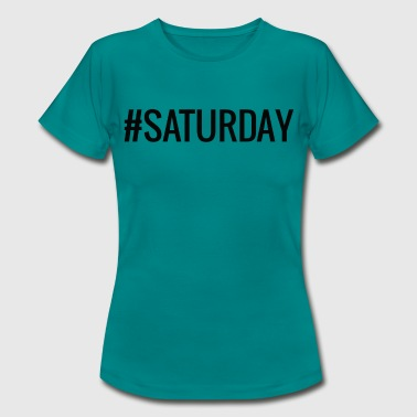Saturday Night Live Saturday / black - Frauen T-Shirt