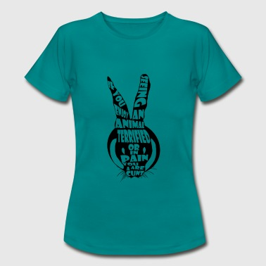 Animal rights - Women's T-Shirt