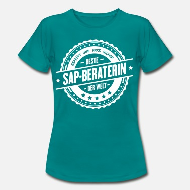 Berater Beste SAP-Beraterin - Frauen T-Shirt