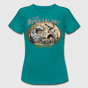 english setter specialist - Camiseta mujer