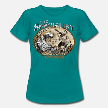 Woodcock english setter specialist - Camiseta mujer