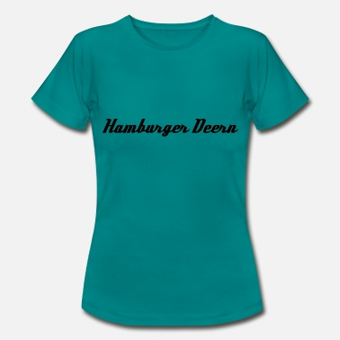 St Pauli Hamburger Deern - Women's T-Shirt