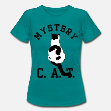 D201 Mystery CAT - Frauen T-Shirt