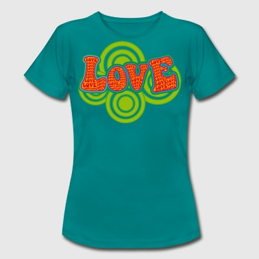 love_hippiestyle - Frauen T-Shirt