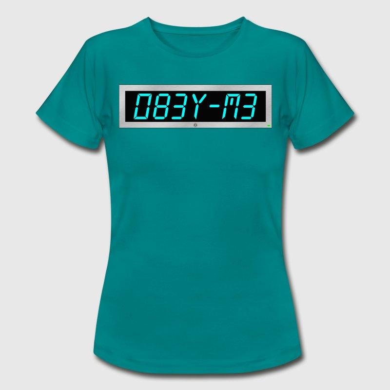Subliminal msg - Obey me - Women s T-Shirt 3759b9206