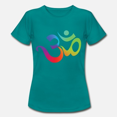 India Yoga OM - Women's T-Shirt