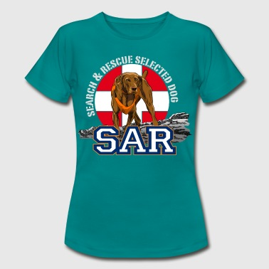 search and rescue dog 1 - Women's T-Shirt