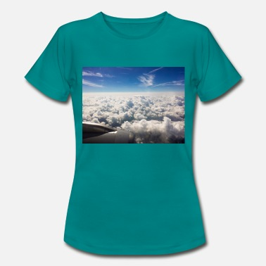 Above The Clouds Above the clouds - Women's T-Shirt