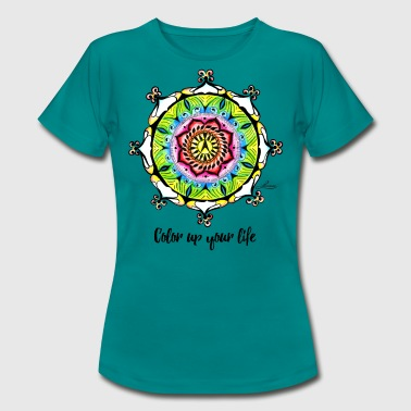 Color up your life - Frauen T-Shirt