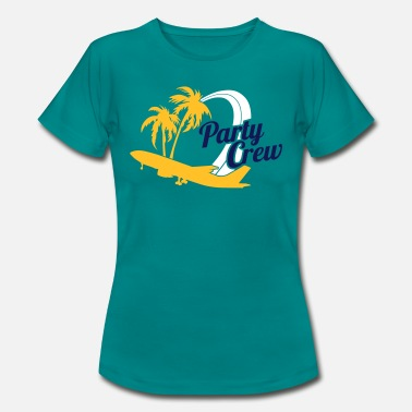 Party Crew Party Crew - Vrouwen T-shirt