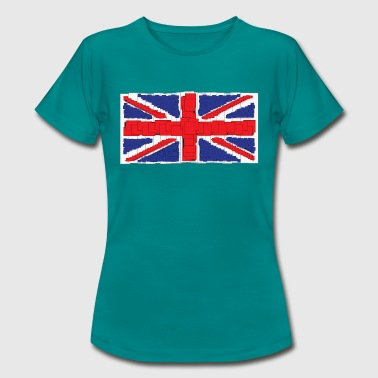 Anime Style Union Jack T-Shirt - Women's T-Shirt