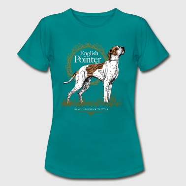 pointer on black 15 - Women's T-Shirt