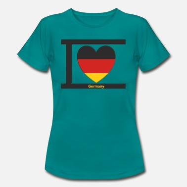 I Love Germany I Love Germany Country Home - Koszulka damska