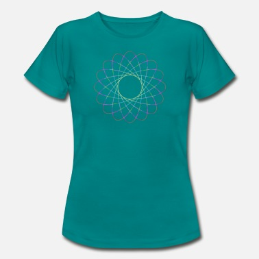 Ellipse ellipser - Dame-T-shirt