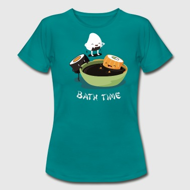 Sushi Bath Time - Women's T-Shirt