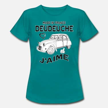 Made In France made in france deudeuche j'aime - T-shirt Femme