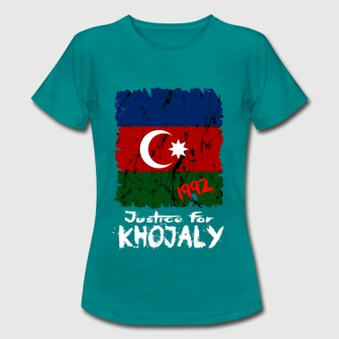 Justice for Khojaly - T-skjorte for kvinner