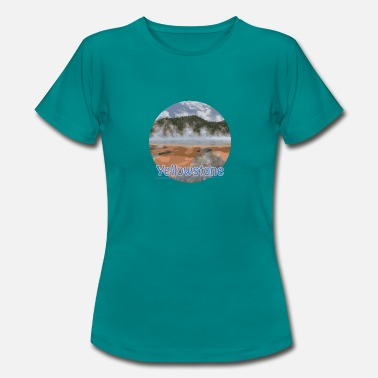 Nationalpark Yellowstone Nationalpark - Frauen T-Shirt