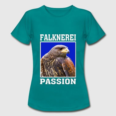 bussard / falknerei / falconry / passion - Frauen T-Shirt