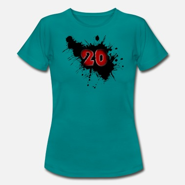 Date Of Birth Date of birth 20 years - Women's T-Shirt