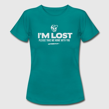 i am lost - take me home - Frauen T-Shirt