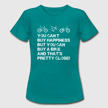 Happiness is a bike - Women's T-Shirt
