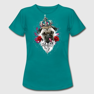 Pug - The King - Women's T-Shirt