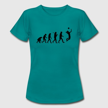 Evolution of Volleyball - Frauen T-Shirt
