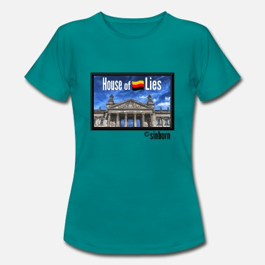 Rigsdagen House of Lies - House of Lies - Reichstag - Dame-T-shirt