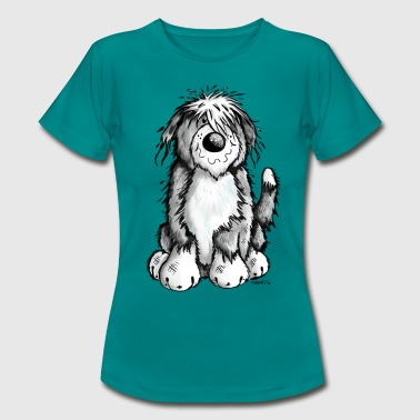 Niedlicher Bearded Collie - Frauen T-Shirt