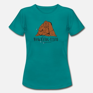 Orang Utan Bowrang-Utan (Archery by BOWTIQUE) - Women's T-Shirt