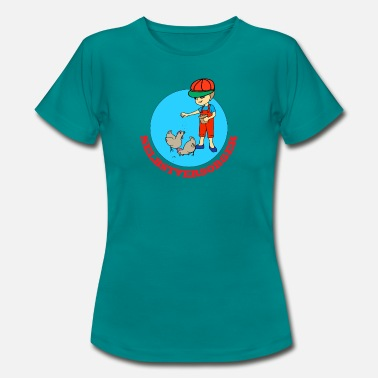Catering Self-catering feeds kippen - Vrouwen T-shirt